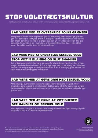 vk plakat dansk